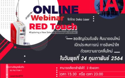 Webinar : Red Touch by Dekalaser
